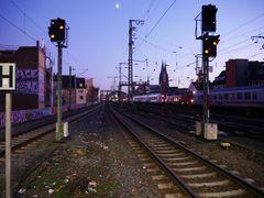 Verkehr am Kölner Hbf