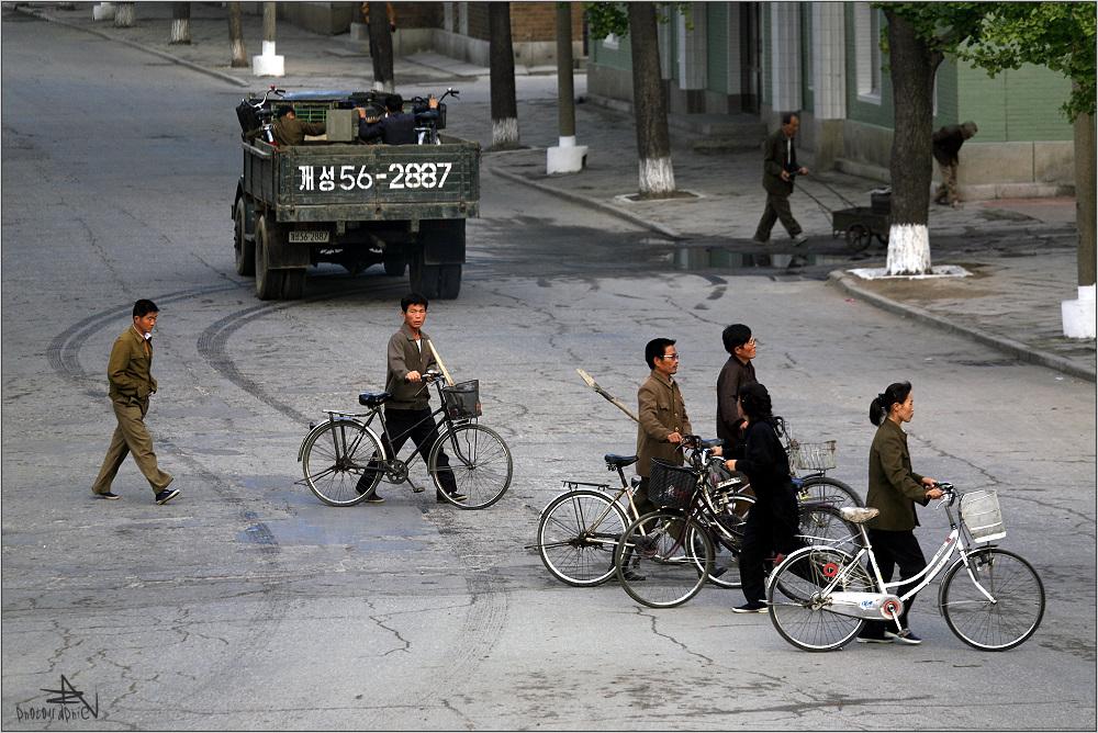 """"""" Verkehr in Kaesong """""""