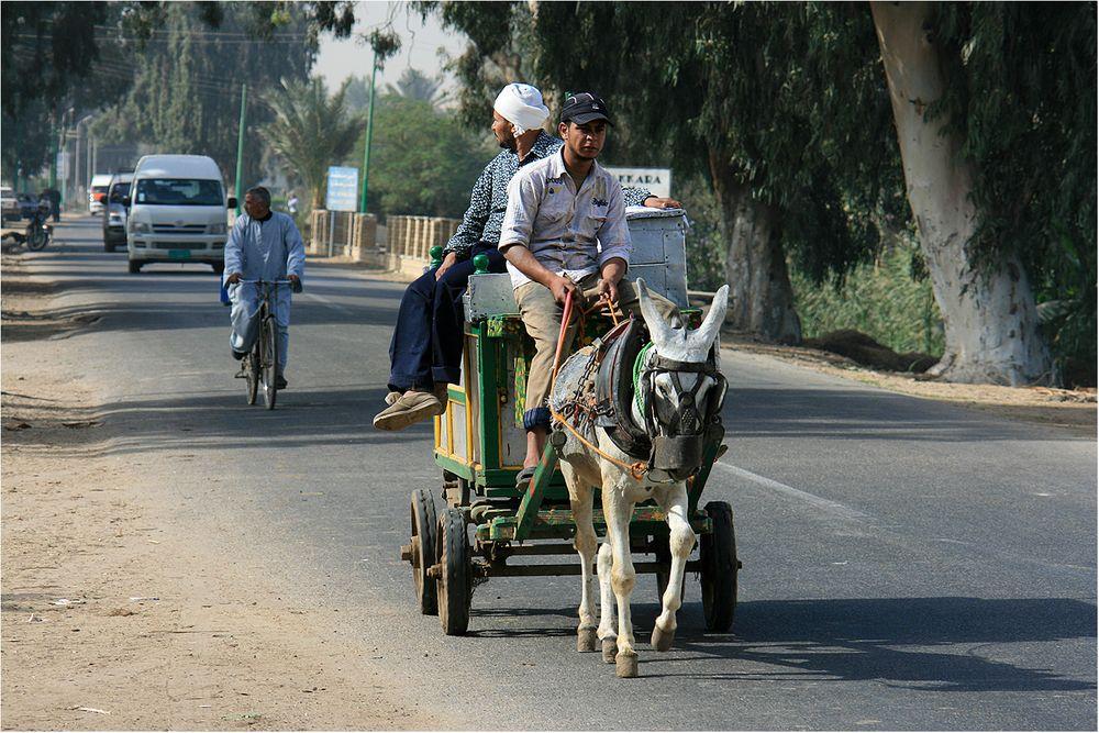 Verkehr wie Dazumal