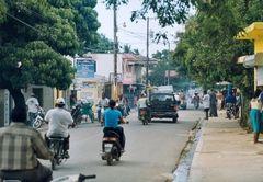 Verkehrschaos in Las Terrenas
