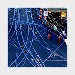 Verkehrsknoten-Grafik farbig