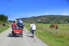Verkehrsmittel auf  Hiddensee