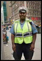 Verkehrspolizei in New York