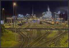 Verladebahnhof am Rhein