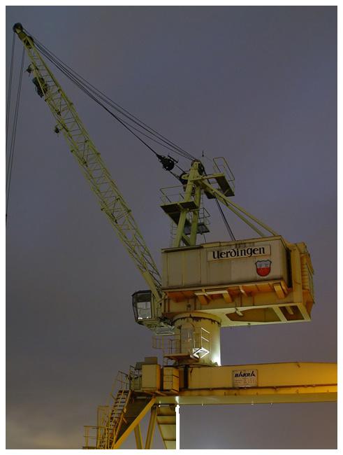 Verladekran - Krefeld Hafen