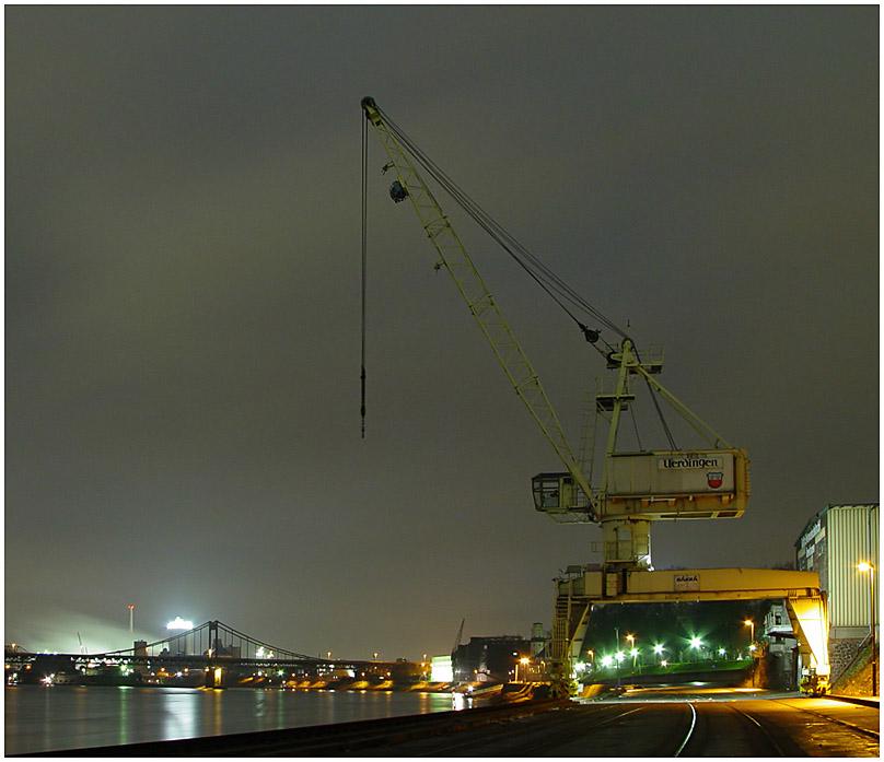 Verladekran - Krefeld Hafen II