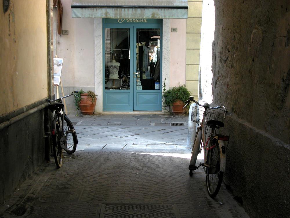 Verlassene Fahrräder