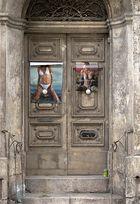verlassene Tür