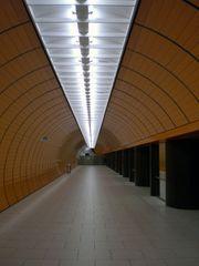 Verlassene U-Bahn-Station