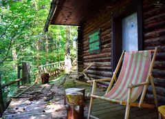 Verlassene Waldhütte 1