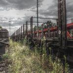 Verlassener Bahnhof in HDR