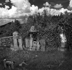 Verlassener Friedhof