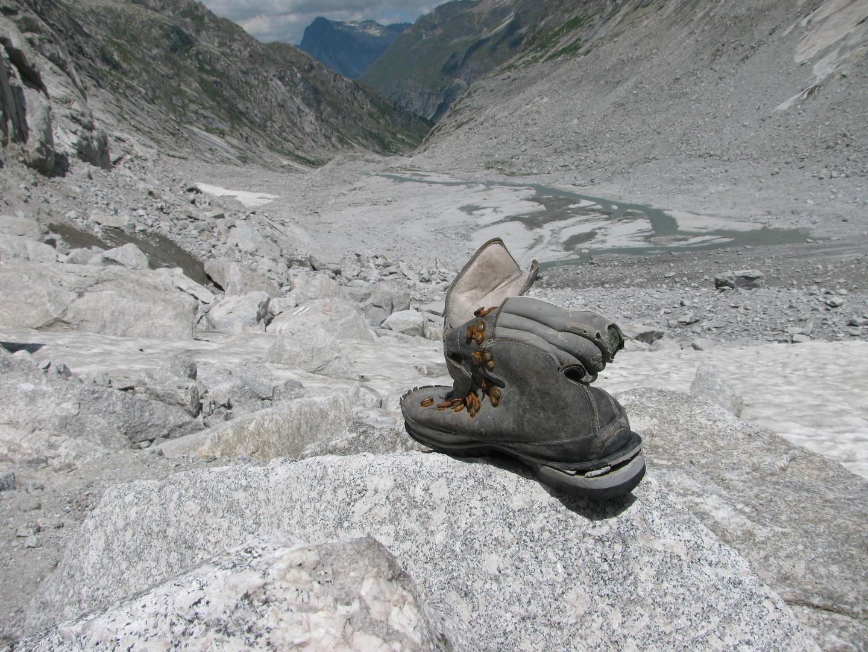 verlassener Schuh