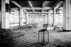 verlassener stuhl