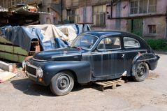 Verlassener Volvo