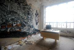 verlassenes Büro