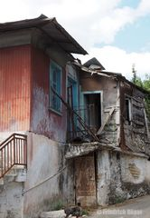 Verlassenes Haus in Syvros