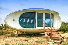 Verlassenes Wohn-UFO