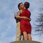 Verliebtes Paar,küsst Euch mal