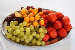 verlockender Obstteller zwischendurch