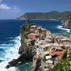Vernazza at Cinque Terre, Italy