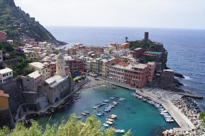 Vernazza in Italy - Cinque Terre