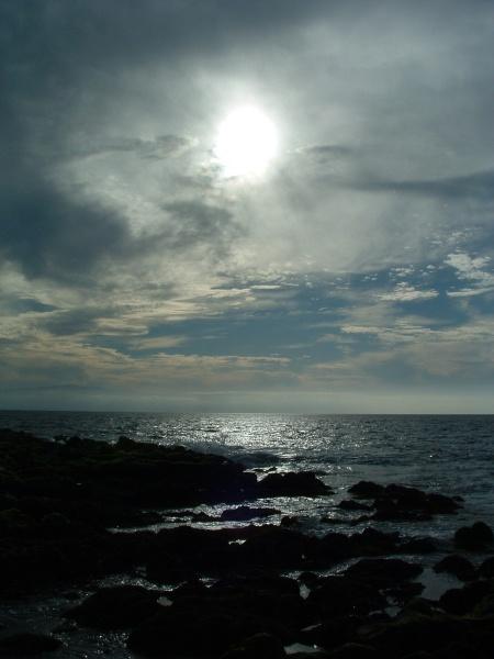 Vernebelte Sonne