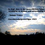 Vernunft ohne Konsequenz - Anatole France
