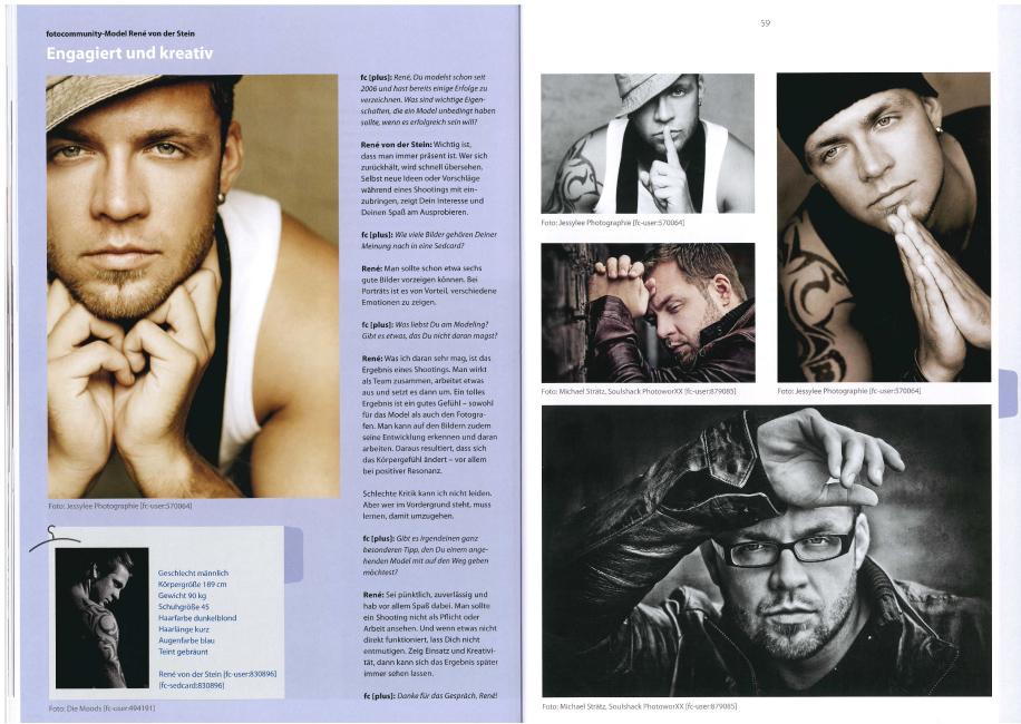 Veröffentlichung im FC Magazin MAR 12