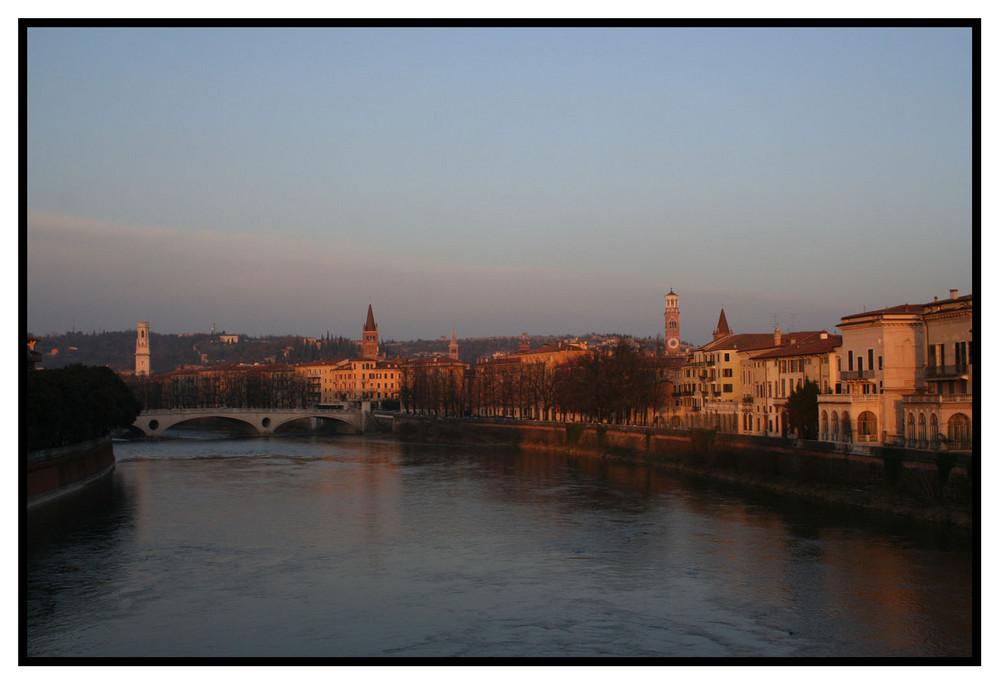 Verona dal Ponte del Castello