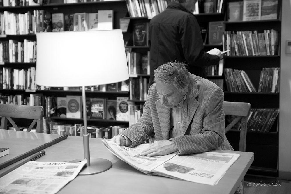 Verona , libreria La Feltrinelli