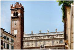Verona old houses