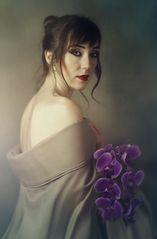 Veronica e le orchidee