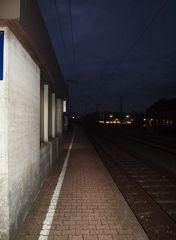 Verpasst Züge. .sind oft Chance...
