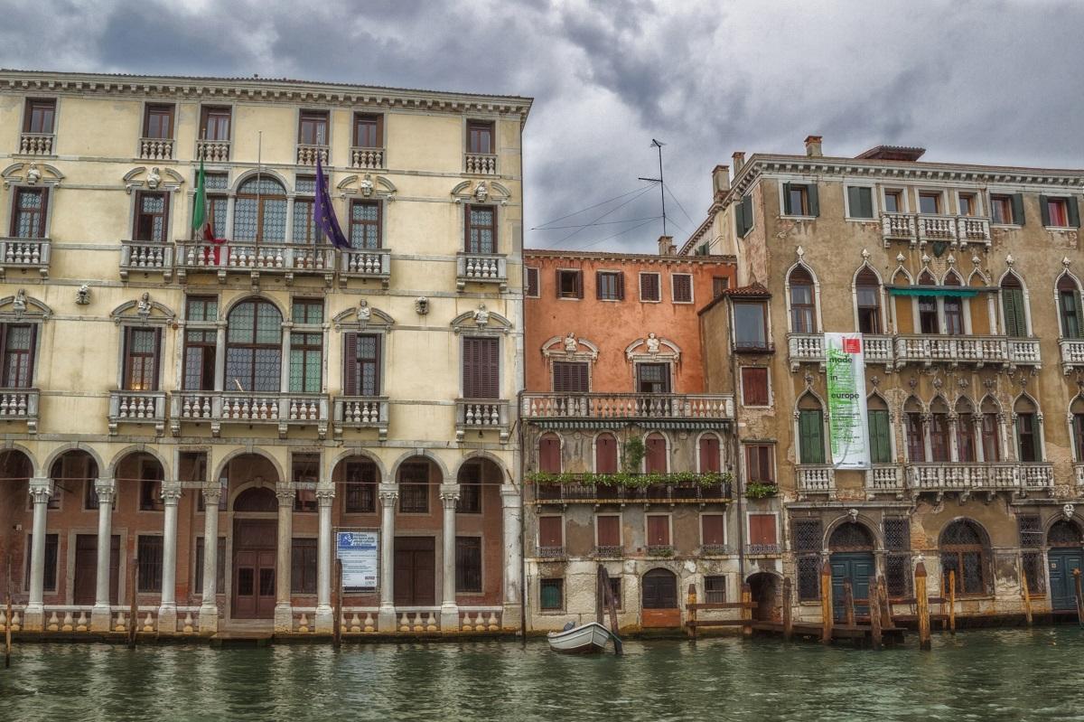 Verregneter Sommertag in Venedig