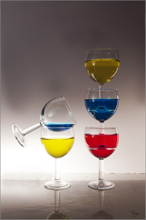 verres de couleurs#2