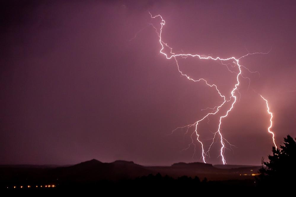 .... Verrücktes Wetter ....