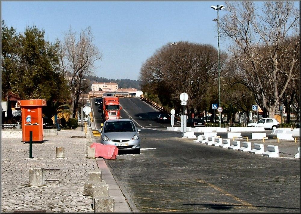 « Vers le port d`Alcantara »