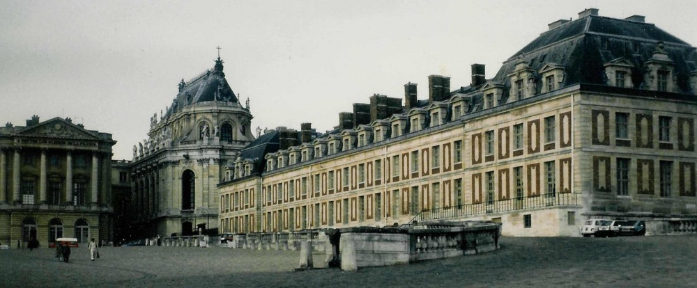 Versailles, erneut