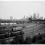 Verschiebebahnhof Duisburg Beeck, August Thyssen Hütte, jetzt TKS