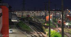 Verschiebebahnhof Wien-Kledering - Sicht nach Osten