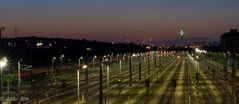Verschiebebahnhof Wien-Kledering - Sicht nach Westen