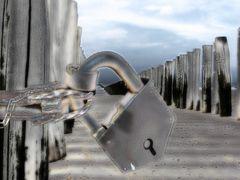 verschlossener Ort - kein Zugang zum mystischen Niemandsland