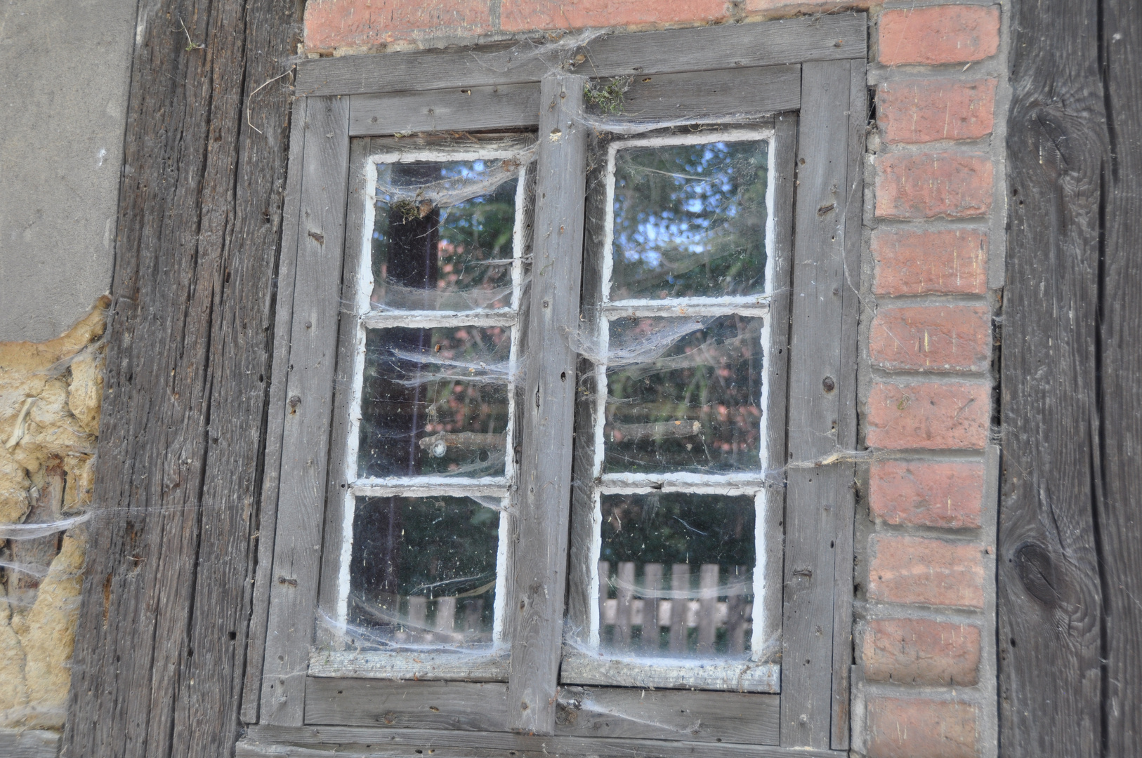 Verschlossenes Fenster