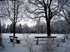 Verschneiter Schützenmattpark