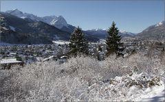 Verschneites G.-Partenkirchen