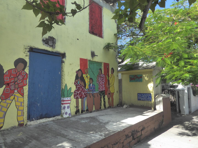 Verschönerungsversuch in Nassau/Bahamas