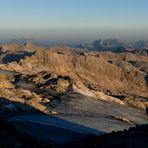 verschwindender gletscher am hochkönig