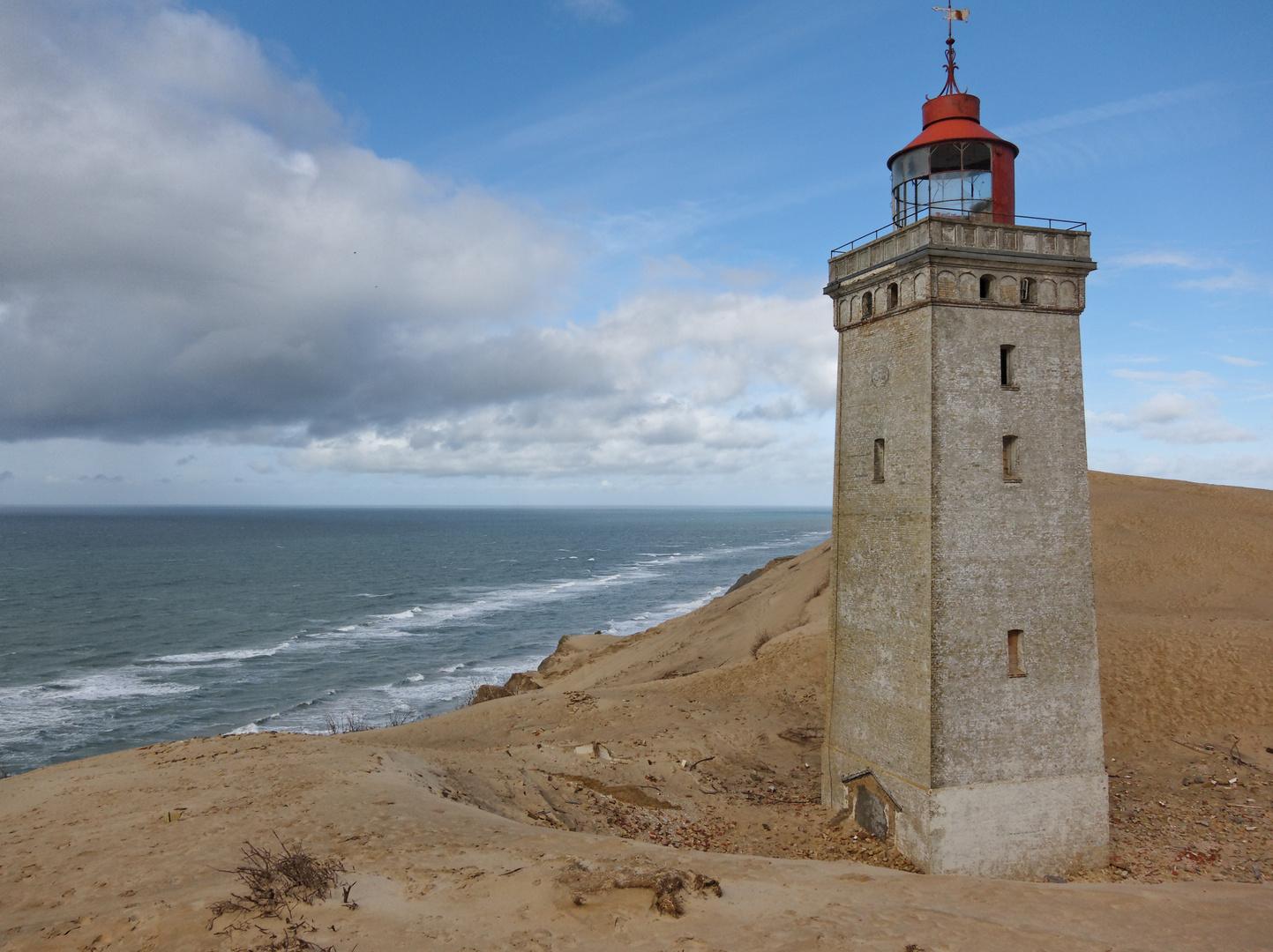 versinkender Leuchtturm