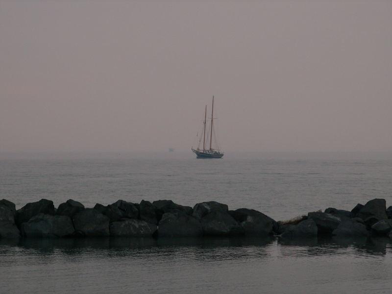 ....verso il mare ....verso sera